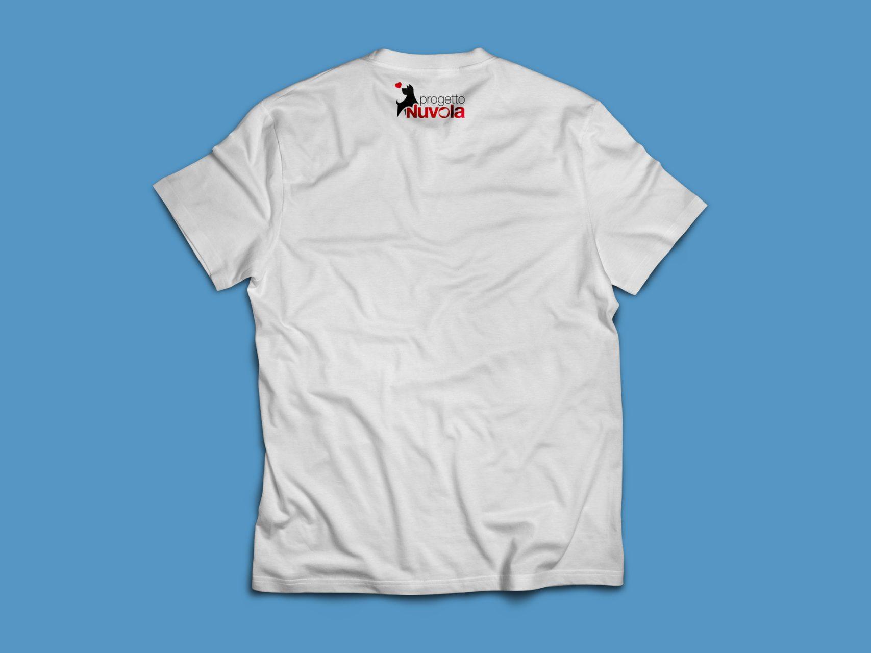t-shirt contro l'abbandono dei cani